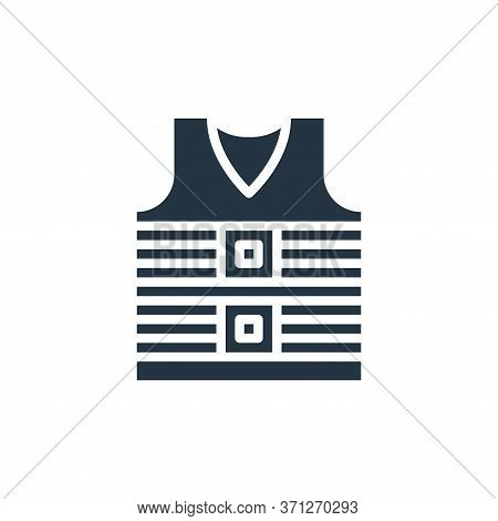 Life Jacket Vector Icon. Life Jacket Editable Stroke. Life Jacket Linear Symbol For Use On Web And M