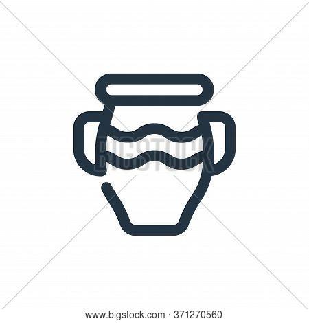 Vase Vector Icon. Vase Editable Stroke. Vase Linear Symbol For Use On Web And Mobile Apps, Logo, Pri
