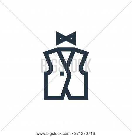 Vest Vector Icon. Vest Editable Stroke. Vest Linear Symbol For Use On Web And Mobile Apps, Logo, Pri