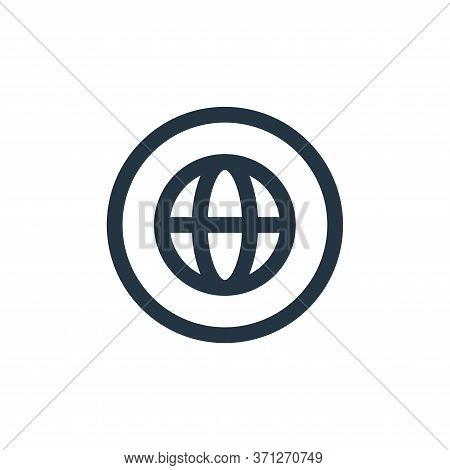 Internet Vector Icon. Internet Editable Stroke. Internet Linear Symbol For Use On Web And Mobile App
