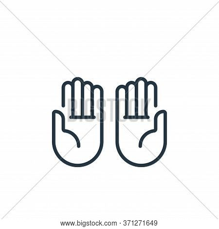 Praying Vector Icon. Praying Editable Stroke. Praying Linear Symbol For Use On Web And Mobile Apps,