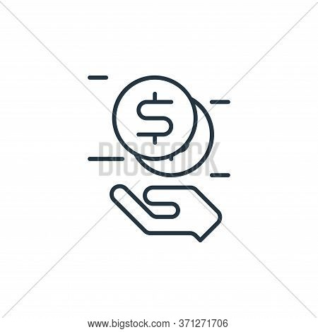 Secured Loan Vector Icon. Secured Loan Editable Stroke. Secured Loan Linear Symbol For Use On Web An