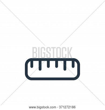 Ruler Vector Icon. Ruler Editable Stroke. Ruler Linear Symbol For Use On Web And Mobile Apps, Logo,
