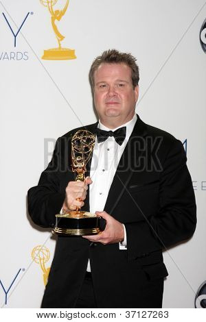 LOS ANGELES - SEP 23:  Eric Stonestreet in the press room of the 2012 Emmy Awards at Nokia Theater on September 23, 2012 in Los Angeles, CA