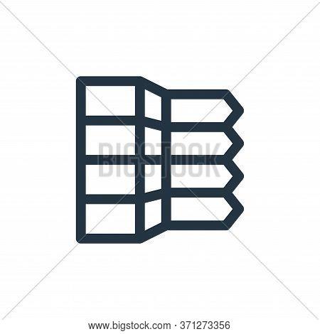 Infographic Elements Vector Icon. Infographic Elements Editable Stroke. Infographic Elements Linear