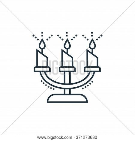 Candle Vector Icon. Candle Editable Stroke. Candle Linear Symbol For Use On Web And Mobile Apps, Log