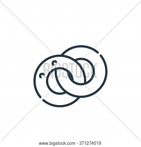 Married Vector Icon. Married Editable Stroke. Married Linear Symbol For Use On Web And Mobile Apps,