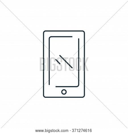 Telephone Vector Icon. Telephone Editable Stroke. Telephone Linear Symbol For Use On Web And Mobile
