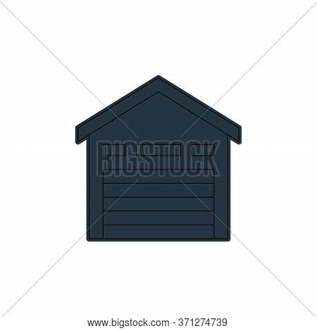 Storehouse Vector Icon. Storehouse Editable Stroke. Storehouse Linear Symbol For Use On Web And Mobi