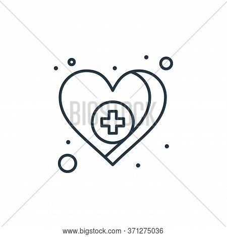 Health Care Vector Icon. Health Care Editable Stroke. Health Care Linear Symbol For Use On Web And M