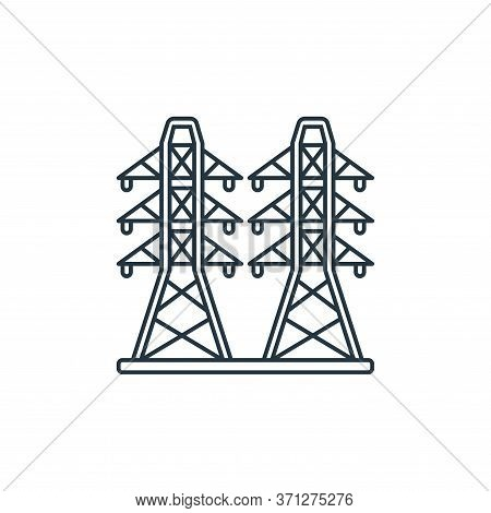 Electricity Vector Icon. Electricity Editable Stroke. Electricity Linear Symbol For Use On Web And M