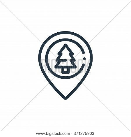 Jungle Vector Icon. Jungle Editable Stroke. Jungle Linear Symbol For Use On Web And Mobile Apps, Log