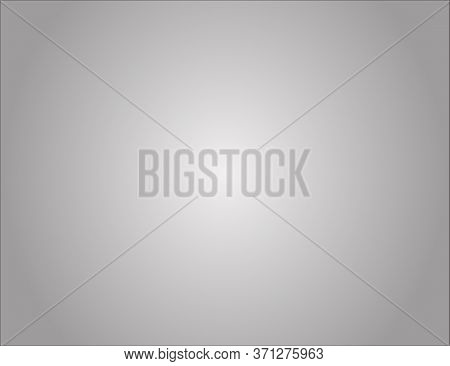 Grey Gradient Abstract Studio Background. Light White Gray Empty Room Studio Gradient For Background