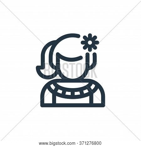 Mexican Vector Icon. Mexican Editable Stroke. Mexican Linear Symbol For Use On Web And Mobile Apps,