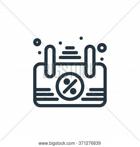 Signboard Vector Icon. Signboard Editable Stroke. Signboard Linear Symbol For Use On Web And Mobile