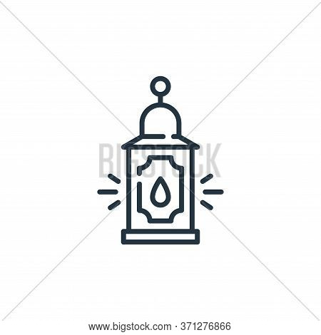 Lantern Vector Icon. Lantern Editable Stroke. Lantern Linear Symbol For Use On Web And Mobile Apps,
