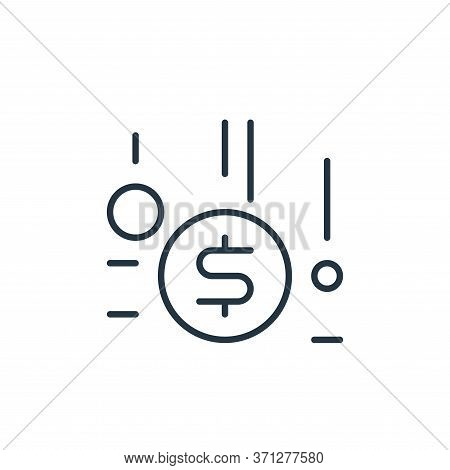 Funding Vector Icon. Funding Editable Stroke. Funding Linear Symbol For Use On Web And Mobile Apps,