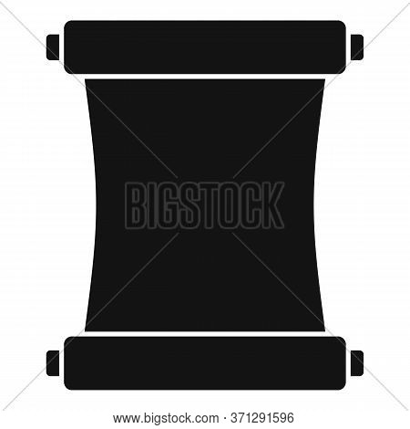 Ninja Papyrus Icon. Simple Illustration Of Ninja Papyrus Vector Icon For Web Design Isolated On Whit