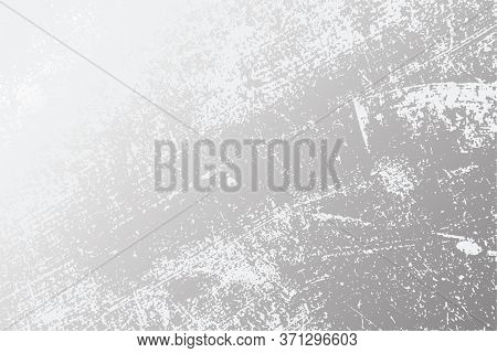 Distress Grey Grainy Texture. Beton Grunge Backdrop. Cement Overlay Background. Empty Weathered Conc