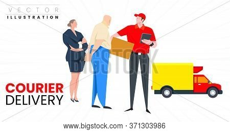 Courier Delivery 1 .eps