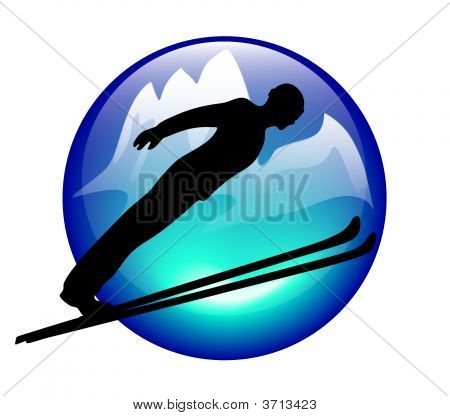 Skijump Icon