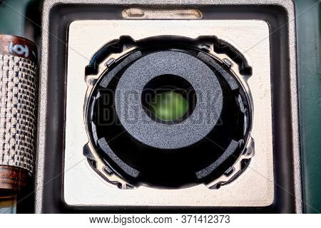 Mobile Phone Camera Module With Image Stabilisation Extrime Close Up.