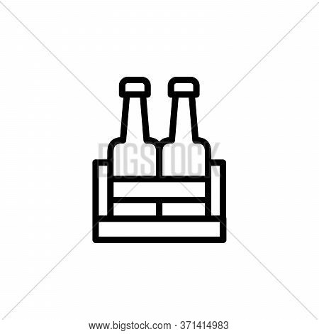 Beer. Beer Box Concept Line Icon. Simple Element Illustration. Beer. Beer Box Concept Outline Symbol