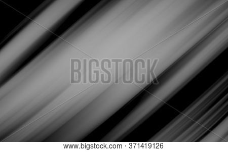 Abstract Black And Silver Are Light Gray With White The Gradient Is The Surface With Templates Metal