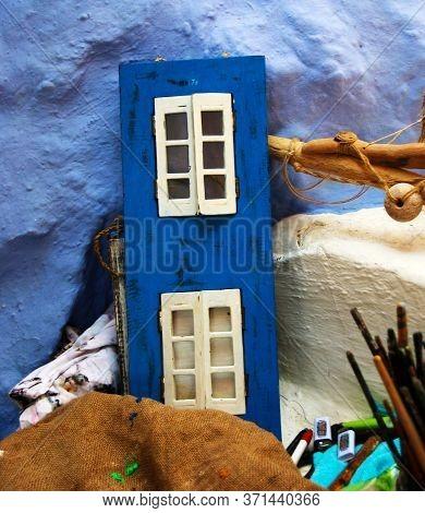 Souvenirs At A Souvenir Shop In Symi Town, Symi Island, Greece