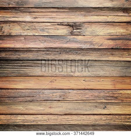Old Wood Wall Slant Texture. Background Old Panels