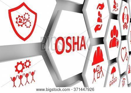 Osha Concept Cell Background 3d Render Illustration