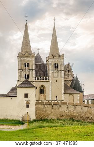 View At The Cathedral Of Saint Martin In Spisske Podhradie, Slovakia