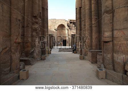 Luxor / Egypt - 01 Mar 2017: Ancient Luxor Temple In Luxor City, Egypt