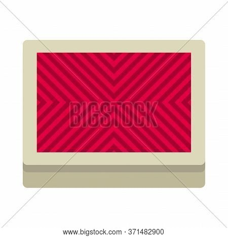 Deck Of Playing Cards Icon Isolated On White Background. Vector Illustration