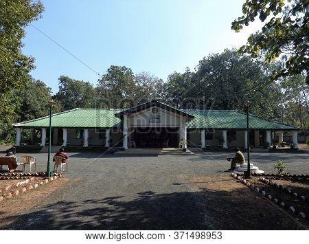 Bandhavgarh, Madhya Pradesh/india - January 29, 2019 : Bandhavgarh Guest House