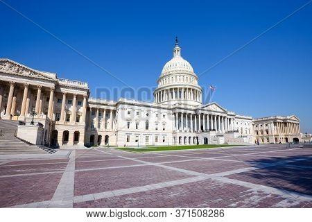 U.s. Capitol Building, Washington D.c., United States