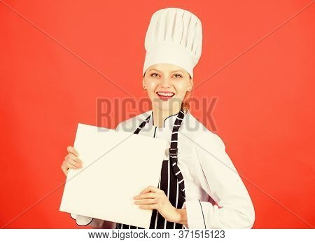 Chef Author Culinary Book. Cooking Food And Culinary As Hobby. Cook Looking For Cooking Recipe In Co