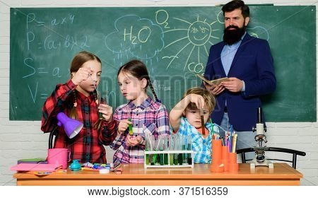 School Club Education. Chemistry Themed Club. Topic Of Our Club. Group Interaction And Communication