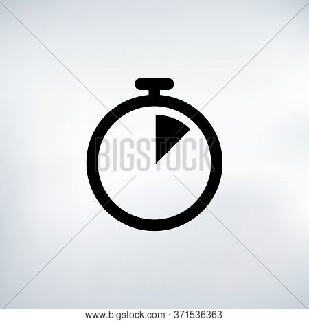 7 Seconds Countdown Timer Icon Set. Time Interval Icons. Stopwatch And Time Measurement. Stock Vecto
