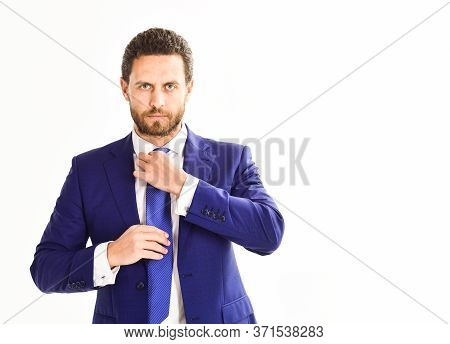 Businessman Prepare Outfit According To Dress Code.