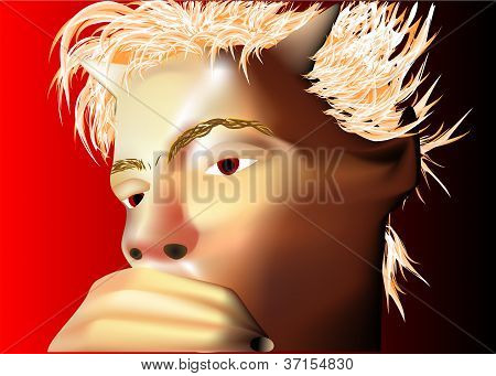 Pensive Devil