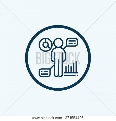 Hr Policies Glyph Icon Vector On White Background. Flat Vector Hr Policies Icon Symbol Sign From Mod