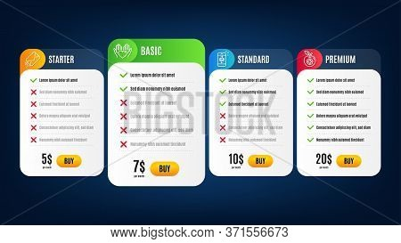 E-mail, Hold Heart And Mail Line Icons Set. Pricing Table, Subscription Plan. Medical Food Sign. Mai