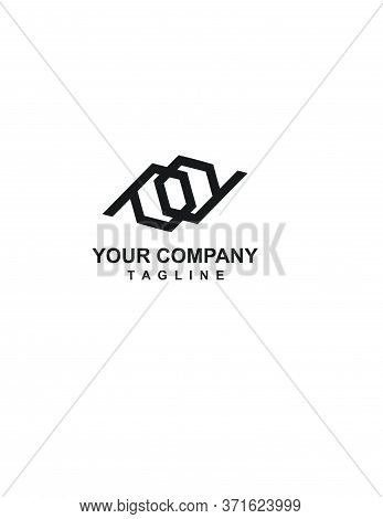 Pd, Pq, Pp Initials Geometric Logo And Vector Icon