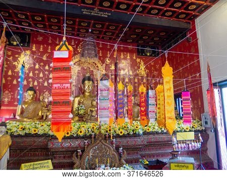 Chiang Mai Thailand-11 January 2020:wat Duan Dee Temple,no Evidence Of When It Was Built. But Assume