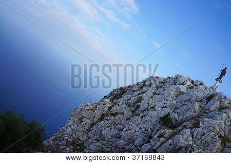 Mount Pellegrino in Palermo, Sicily