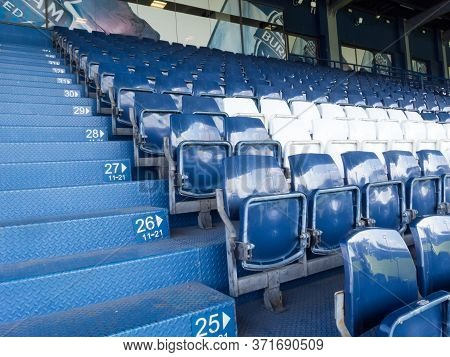 Chang Arena Buriram,thailand -20 November 2018 :chang Arena Unofficial Name Thunder Castle Stadium I