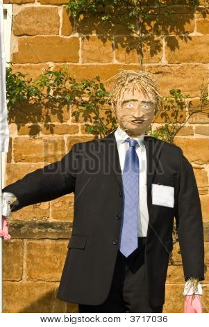Business Scarecrow