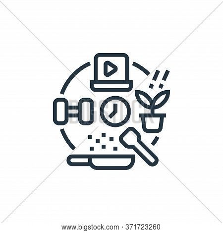 hobbies icon isolated on white background from  collection. hobbies icon trendy and modern hobbies s