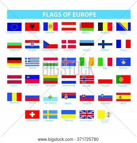 Flags Of Europe  Flag Europe Icon World Nationality